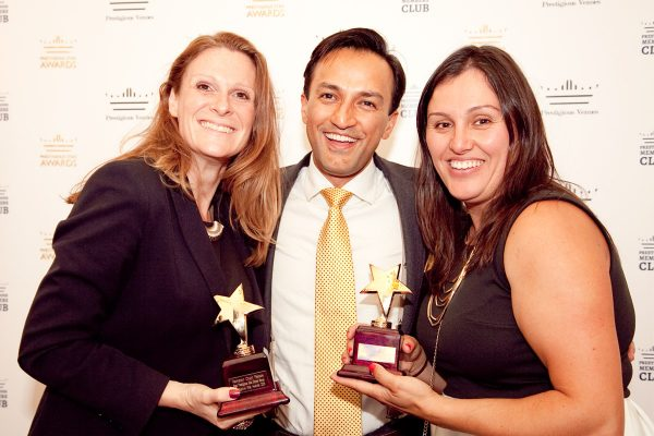 Liz Young, HRP, Habib Amir, Prestigious Venues and Katerina Pippi, Thornbury Castle, Prestigious Star Awards 2015