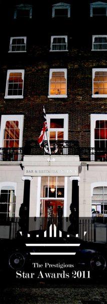 The Awards at No. 5 Cavendish Club, London