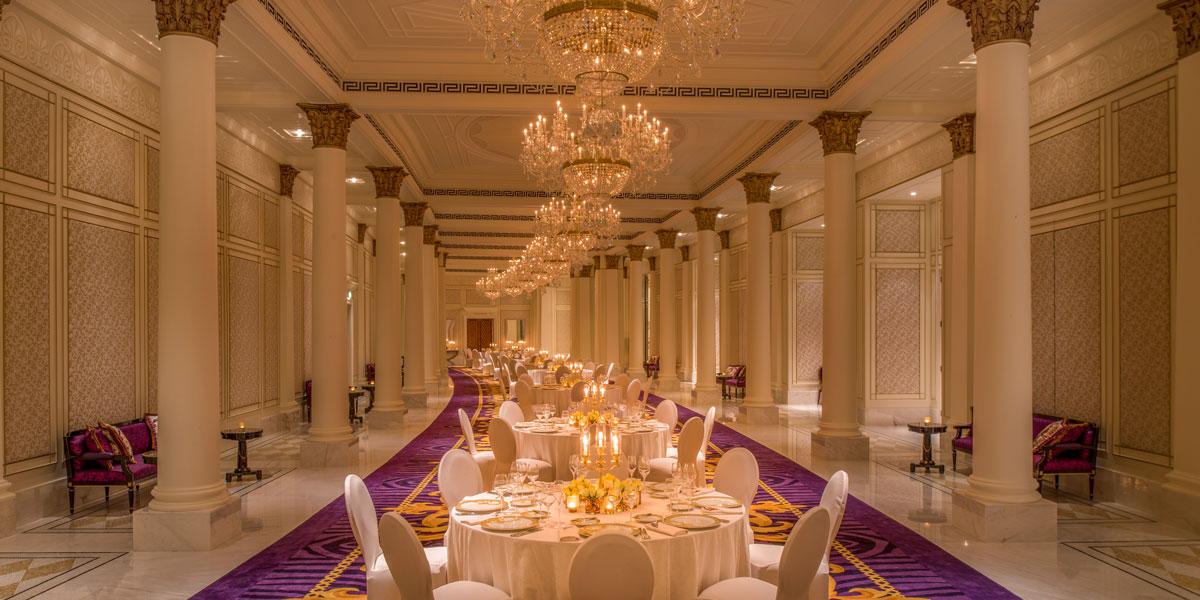 Banqueting Venue, Banqueting Event Space, Palazzo Versace Dubai, Prestigious Venues