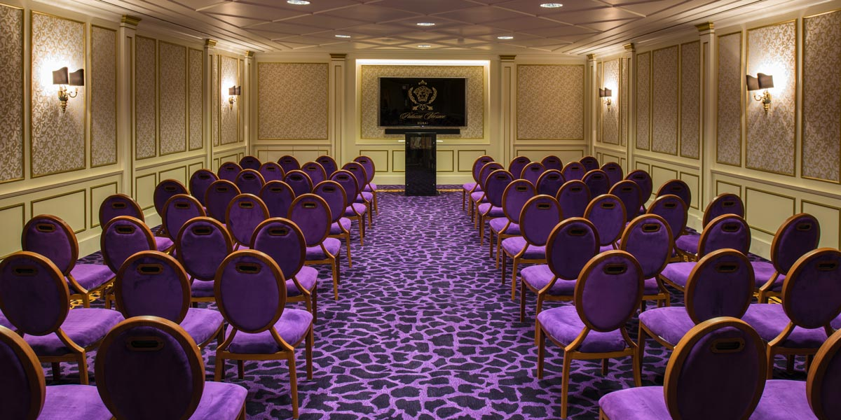 Meeting Venue, Conference Event Space, Palazzo Versace Dubai, Prestigious Venues