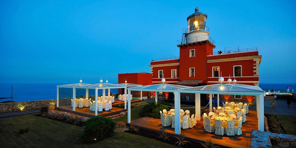 Gala Dinner Venue, Faro Capo Spartivento, Prestigious Venues