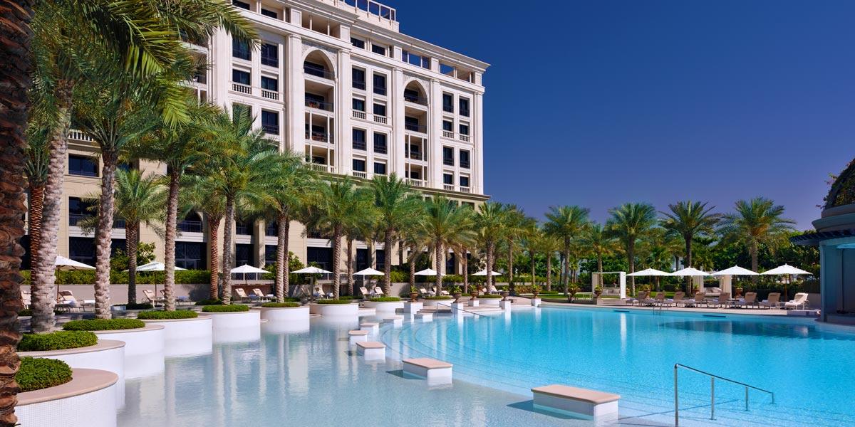 Outdoor Lagoon Pool, Palazzo Versace Dubai, Prestigious Venues