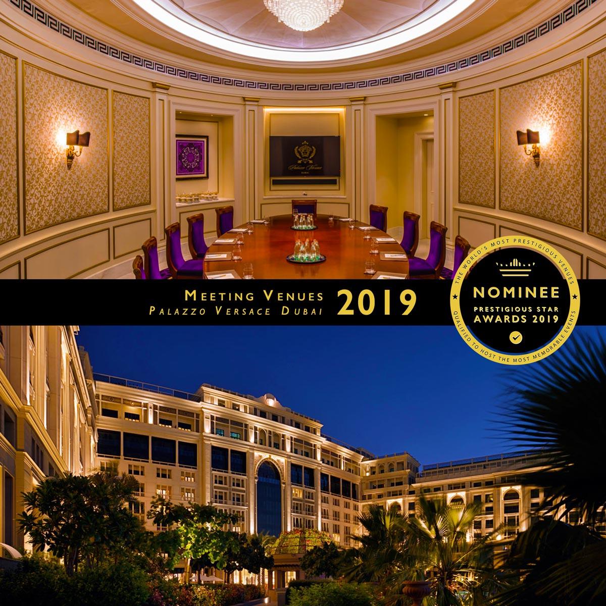 Meeting Rooms at Palazzo Versace Dubai