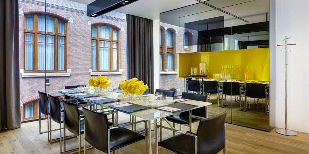 Board Meeting Venue, Event in the Yellow Room, Conservatorium Hotel, Prestigious Venues
