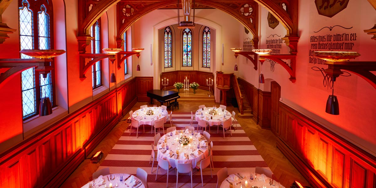Gala Dinner Venue, The Chapel, Hard Rock Hotel Davos, Prestigious Venues