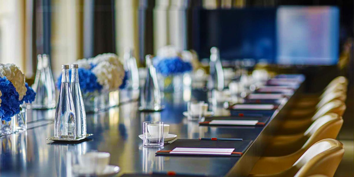 Meeting Venue, Blue Room, Conservatorium Hotel, Prestigious Venues