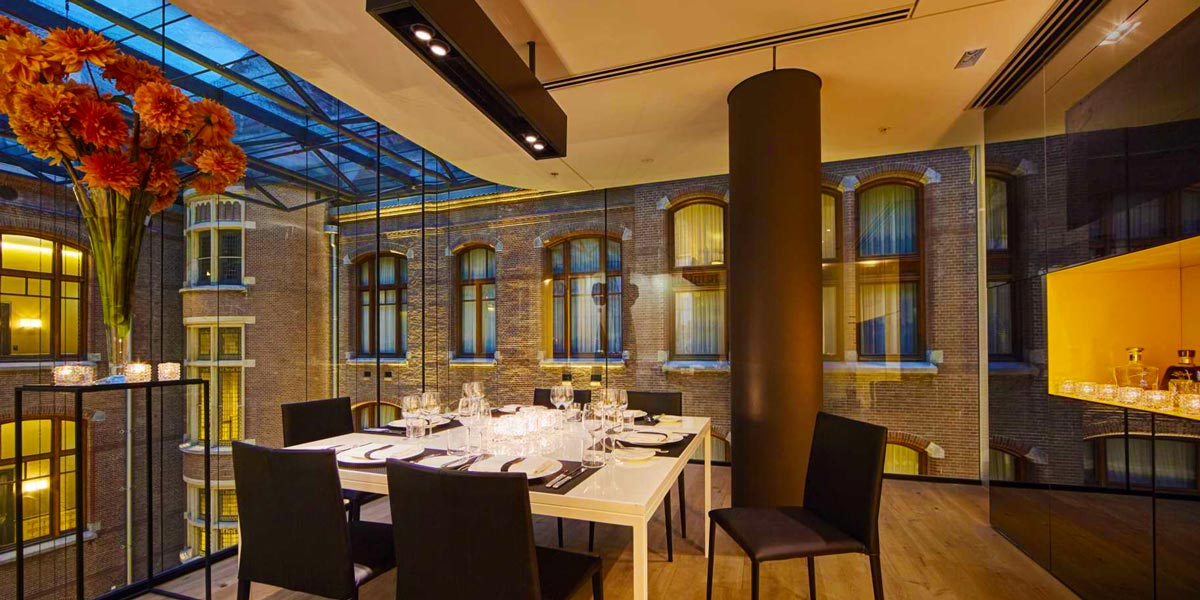 Private Dining Space, Private Dining Room, Orange Room, Conservatorium Hotel, Prestigious Venues