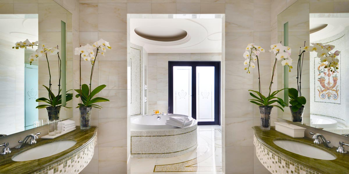 Signature Suite Private Spa Area, Palazzo Versace Dubai, Prestigious Venues