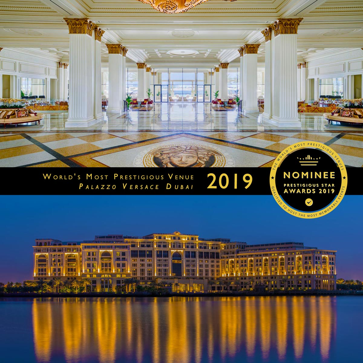 Signature Suite at Palazzo Versace Dubai