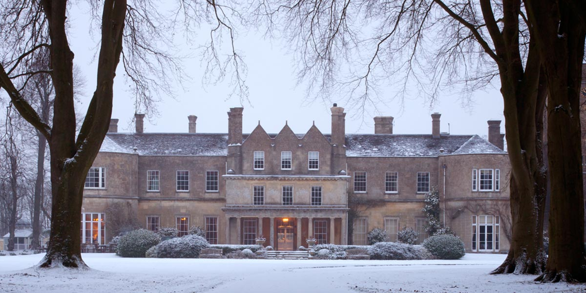 Christmas Party Venue Near Bath, Lucknam Park Hotel & Spa