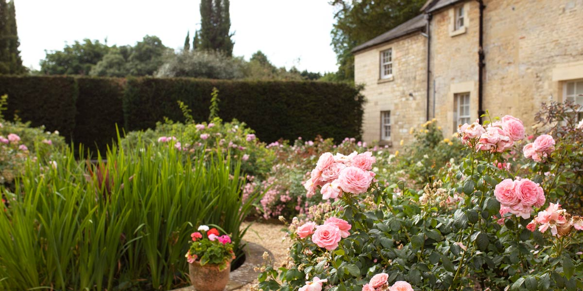 English Country Garden, Lucknam Park Hotel & Spa