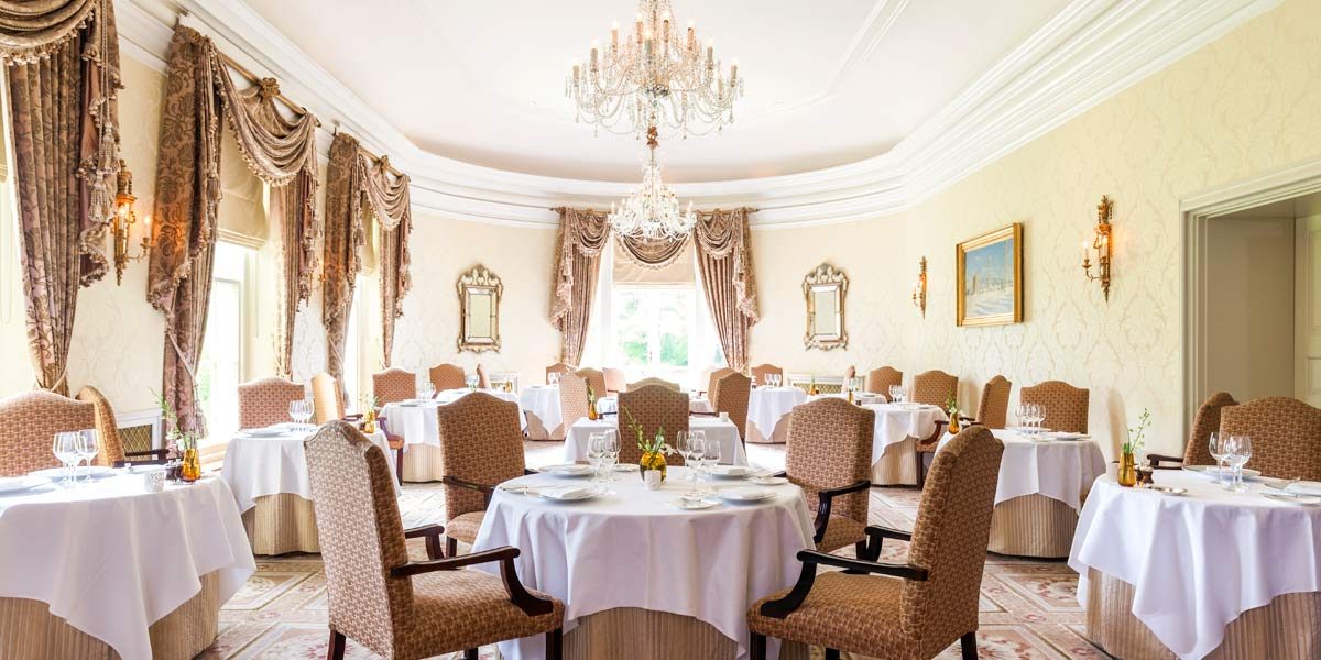 Fine Dining Restaurant Hywel Jones, Lucknam Park Hotel & Spa