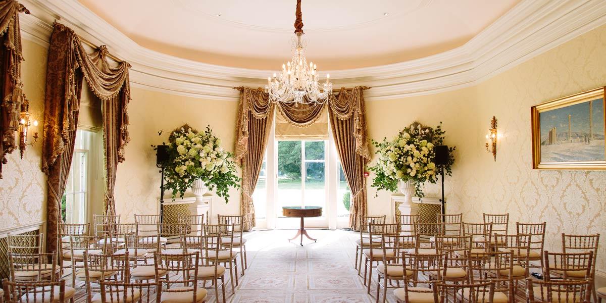 Luxury Wedding Ceremony Venue, Lucknam Park Hotel & Spa