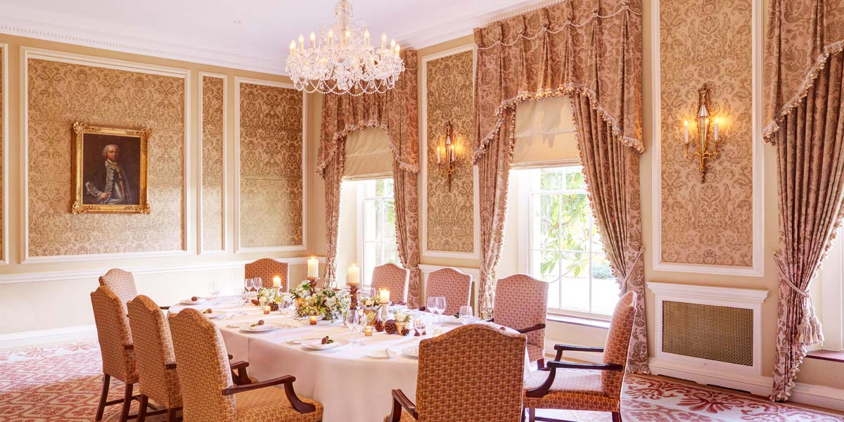 Michelin Star Private Dining Venue, Lucknam Park Hotel & Spa
