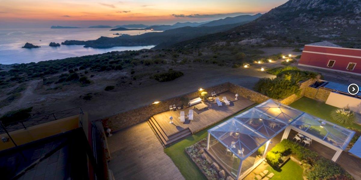 Private Dining Venue, Faro Capo Spartivento, Prestigious Venues