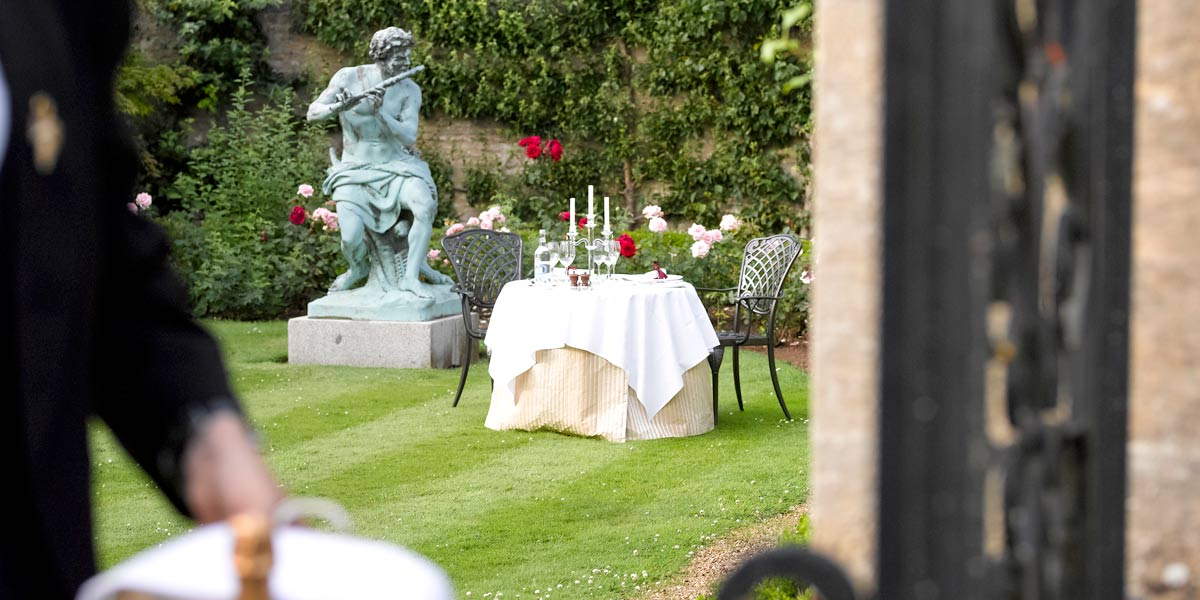 Romantic Dinner Venue, Lucknam Park Hotel & Spa