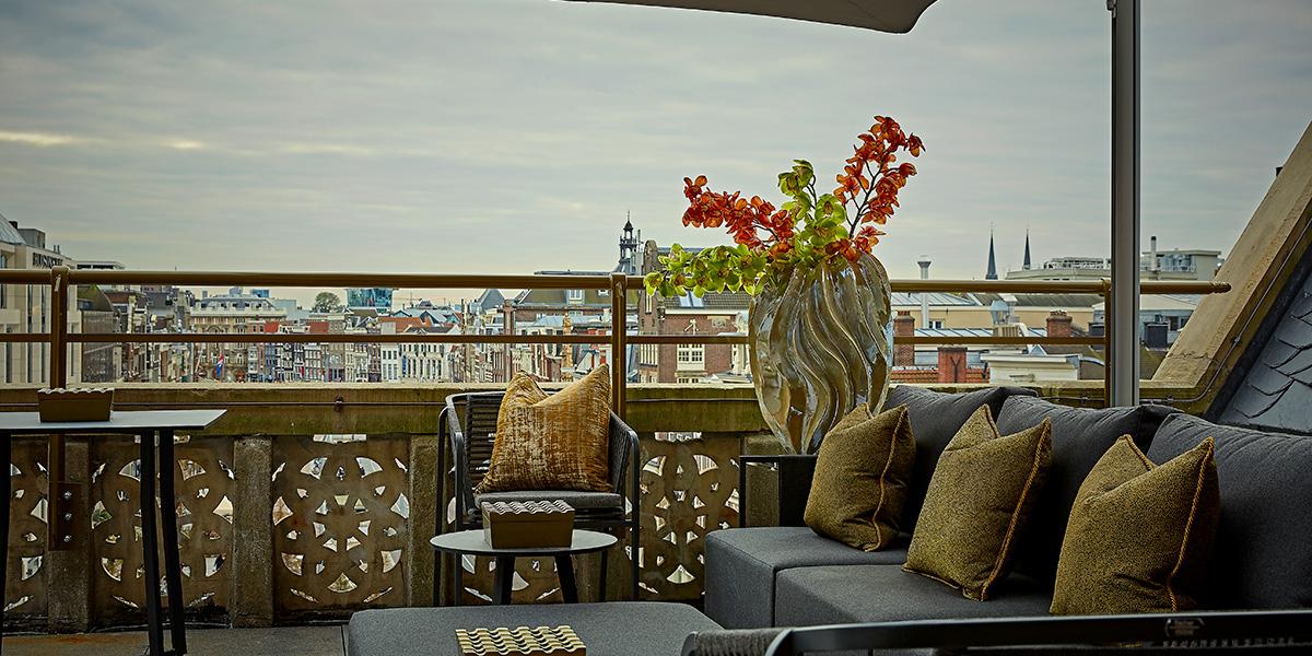 Terrace Venue in Amsterdam, Hotel TwentySeven, Prestigious Venues