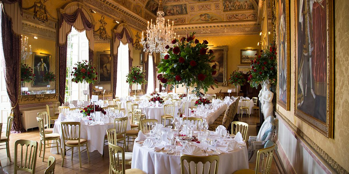 Wedding Reception in England, Brocket Hall, Prestigious Venues