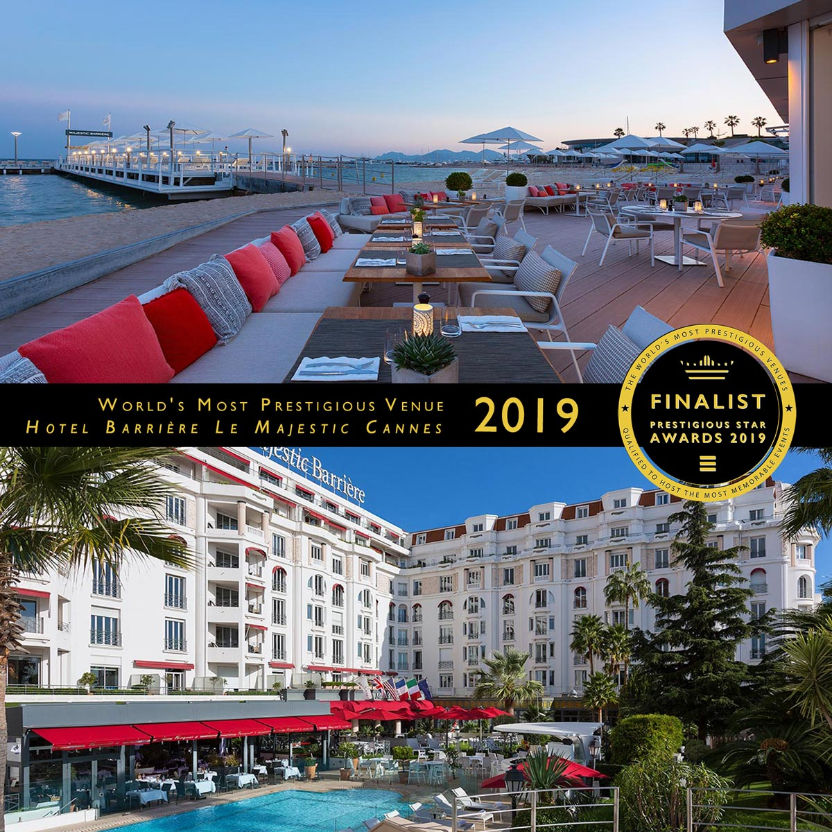 Christian Dior Suite at Hotel Barrière Le Majestic Cannes