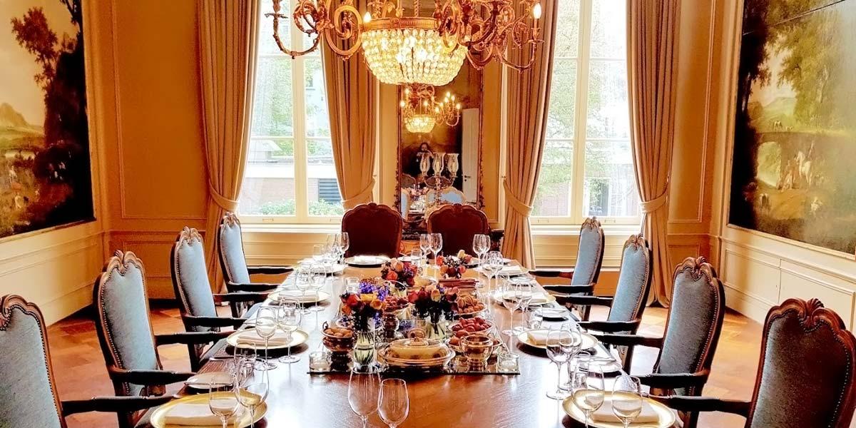 Amsterdam Private Dining Venue, Waldorf Astoria Amsterdam, Prestigious Venues