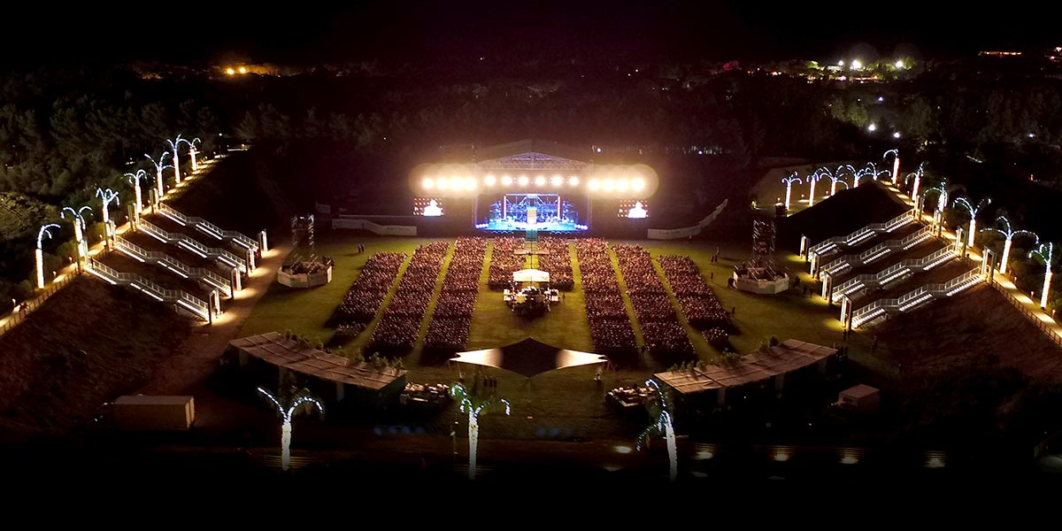 Arena, Forte Village Resort, Prestigious Venues