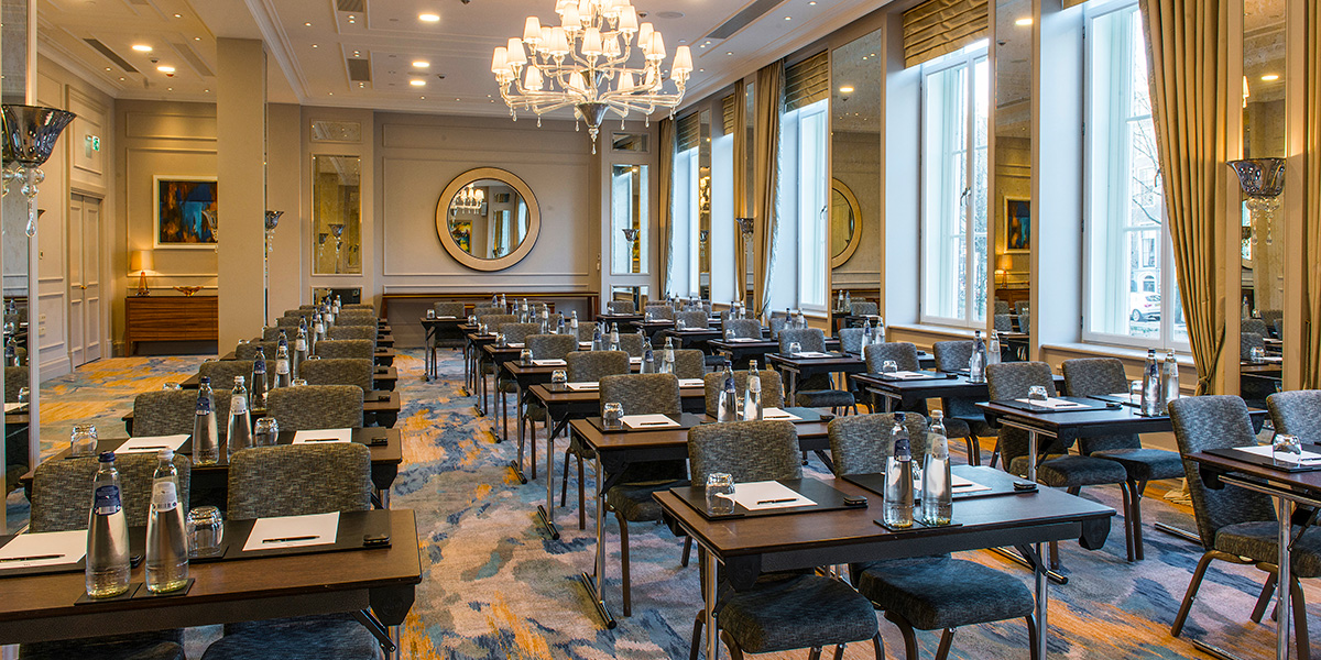 Ballroom Meeting Venue, Waldorf Astoria Amsterdam, Prestigious Venues