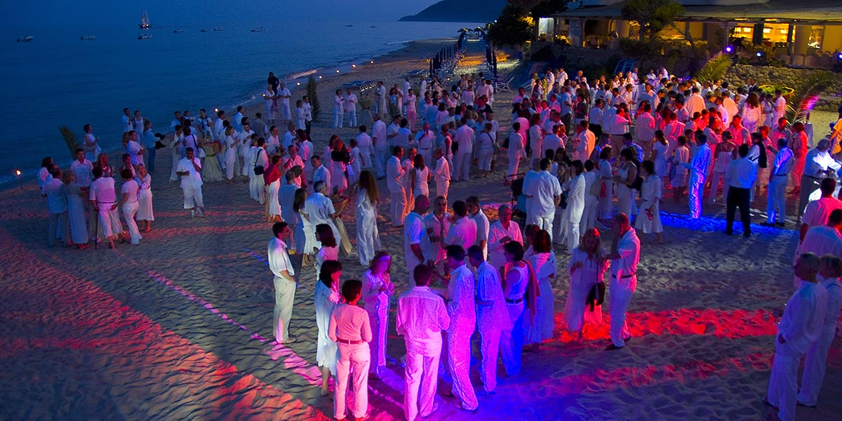 Beach Party Venue, Forte Village Resort, Prestigious Venues