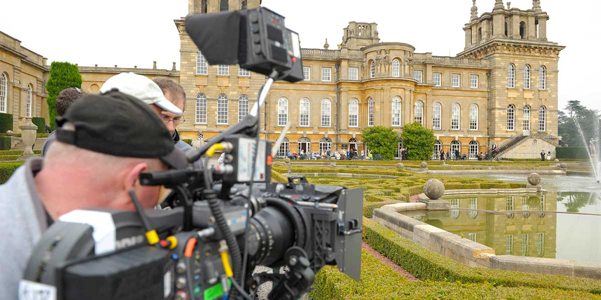 British Film Locations, Blenheim Palace, Prestigious Venues