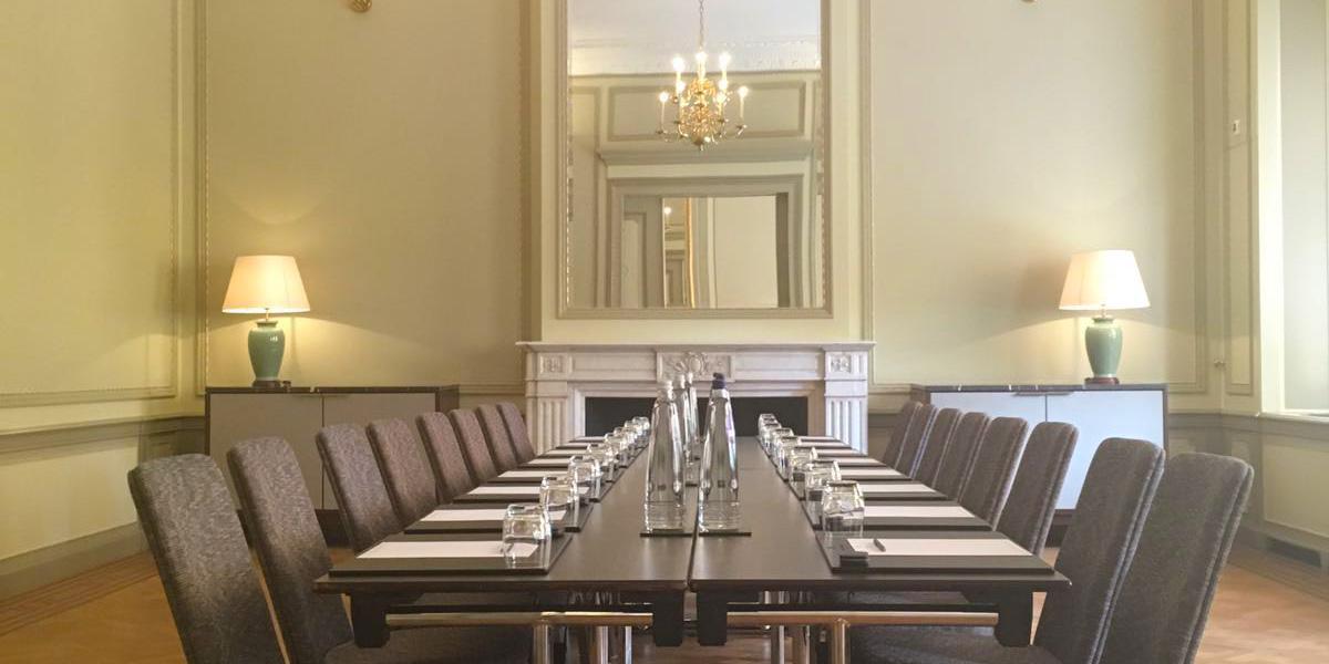 Business Meeting in Amsterdam, Waldorf Astoria Amsterdam, Prestigious Venues