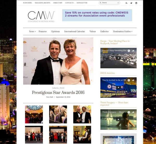 CMW, Prestigious Star Awards 2016