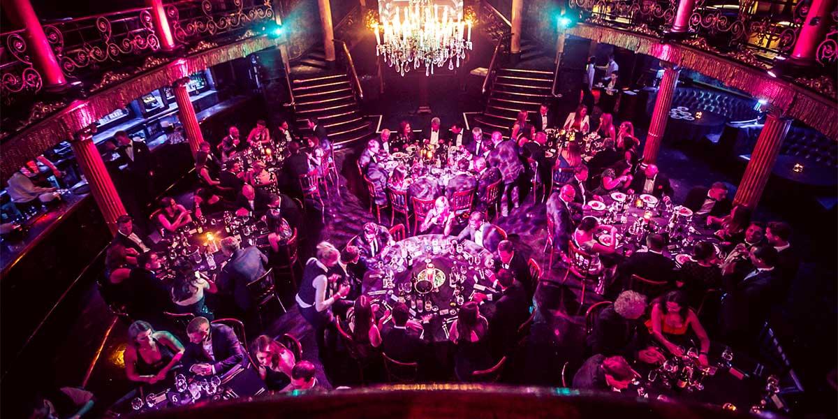 Christmas Gala Dinner Venue, Cafe de Paris, Prestigious Venues