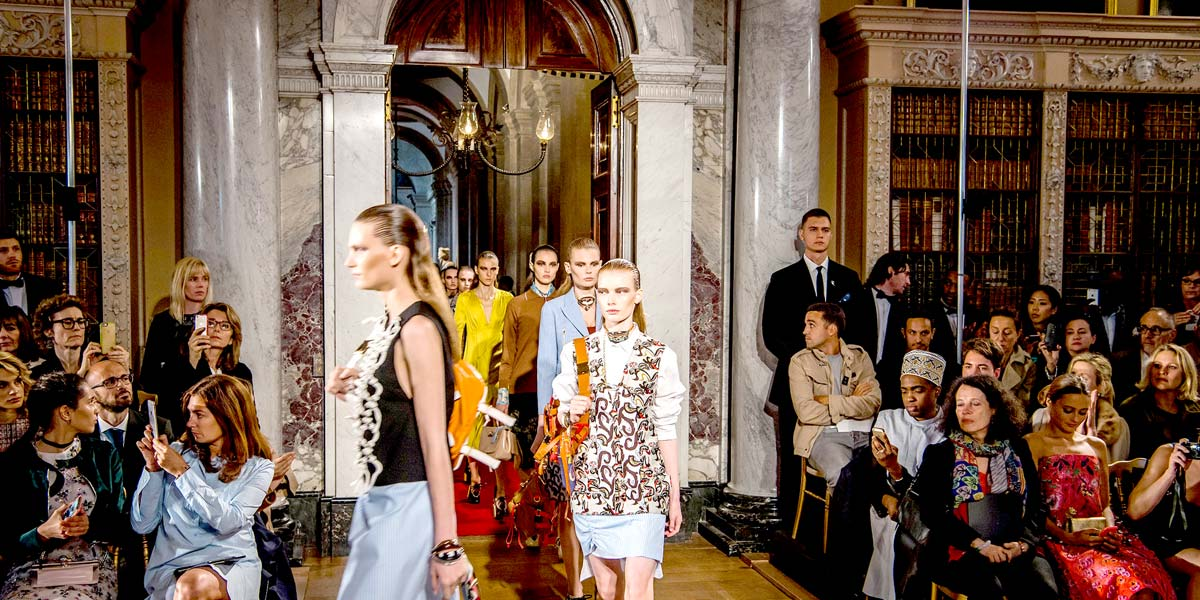 Dior Fashion Show, Blenheim Palace, Prestigious Venues