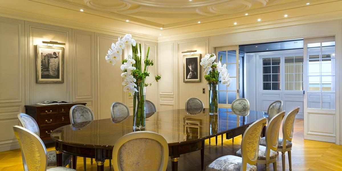 Dior Suite Event Spaces, Hotel Barriere Le Majestic Cannes, Prestigious Venues