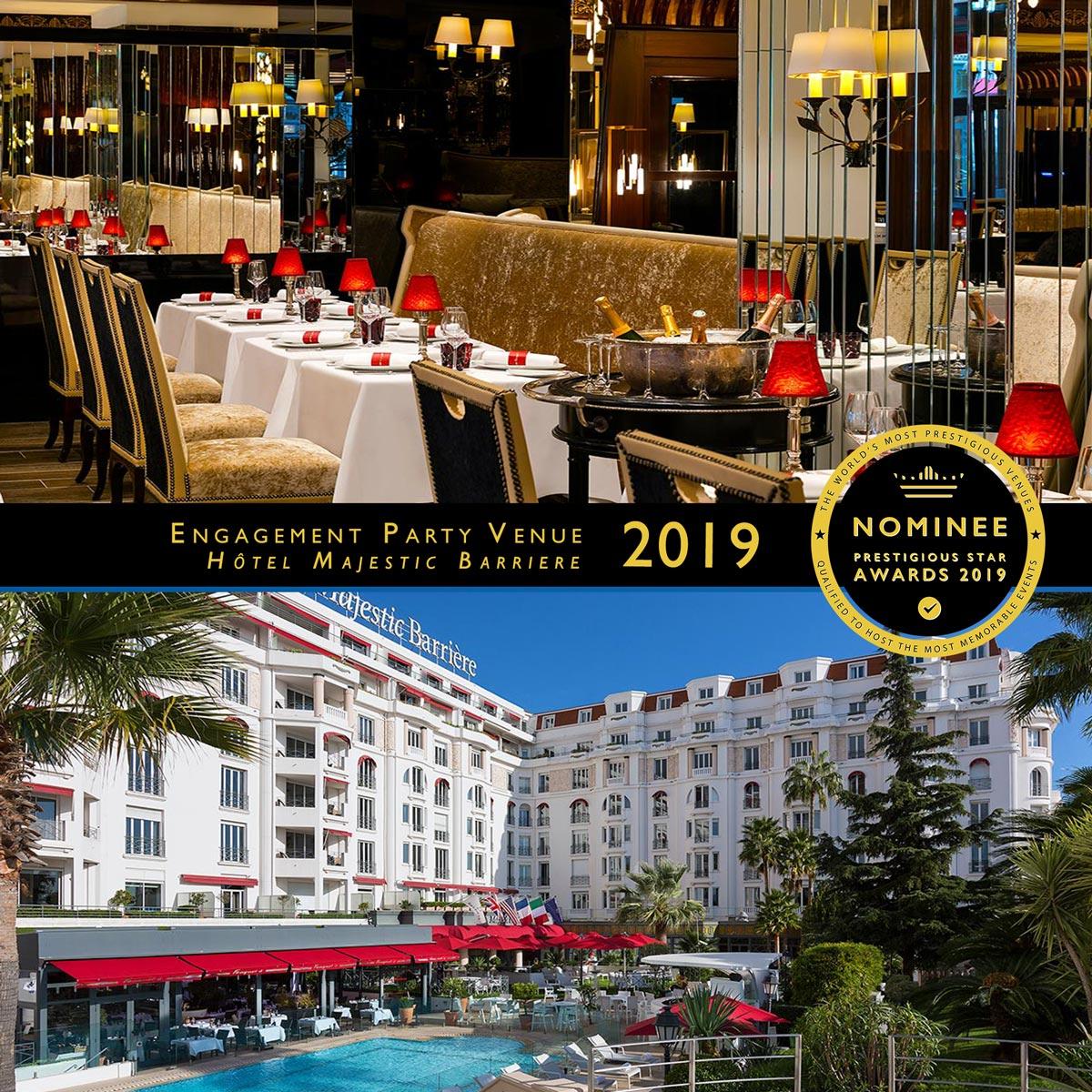 Veuve Clicquot Terrace at Hotel Barrière Le Majestic Cannes
