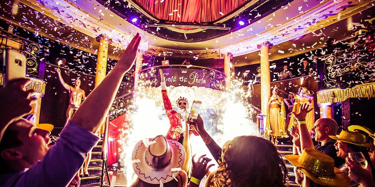 Event Entertainment, Cafe de Paris, Prestigious Venues