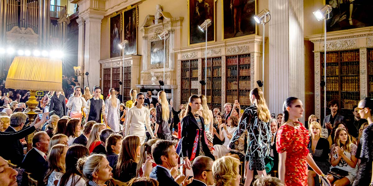 Fashion Event Venue, Blenheim Palace, Prestigious Venues