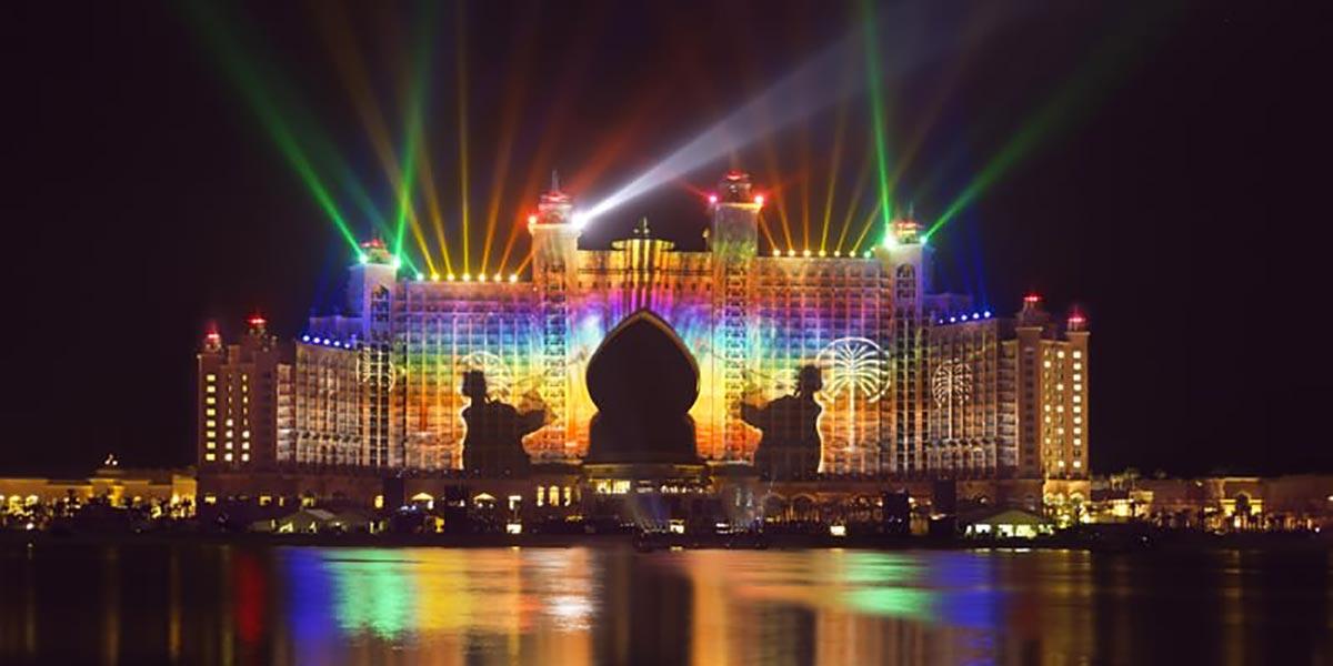 FireworksTours in Dubai, Desert Gate, Prestigious Star Awards