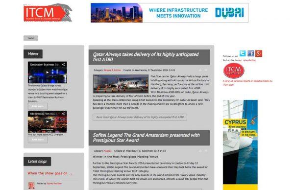 ITCM Homepage, Prestigious Star Awards 2014, Press Coverage