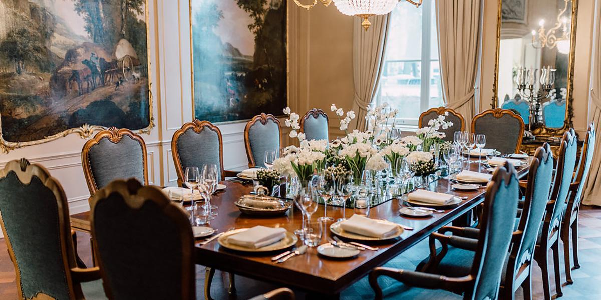 Luxury Dining Venue, Waldorf Astoria Amsterdam, Prestigious Venues