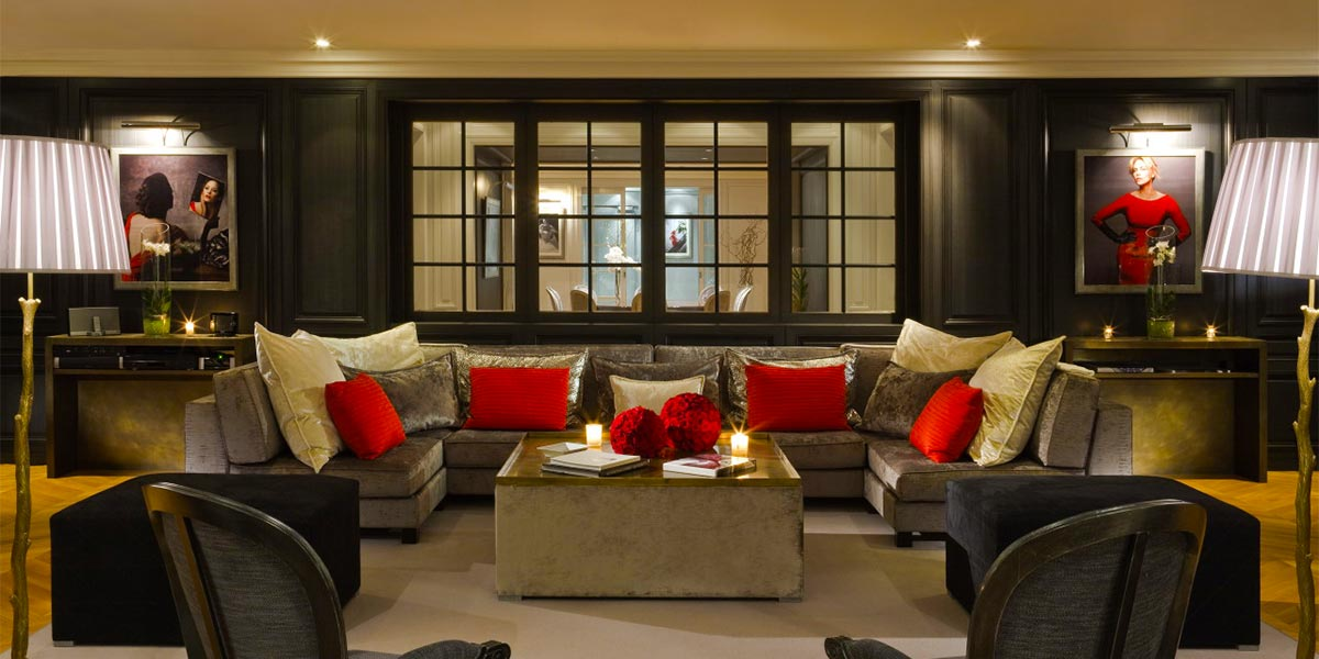 Luxury Suite Event Space, Hotel Barriere Le Majestic Cannes, Prestigious Venues