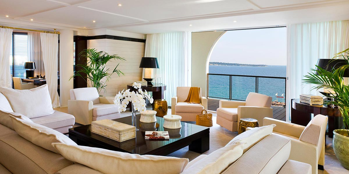 Luxury Suite Venue in Cannes, Hotel Barriere Le Majestic Cannes, Prestigious Venues