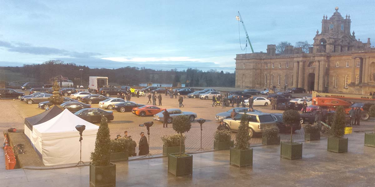 Mission Impossible Filming Great Court, Blenheim Palace, Prestigious Venues