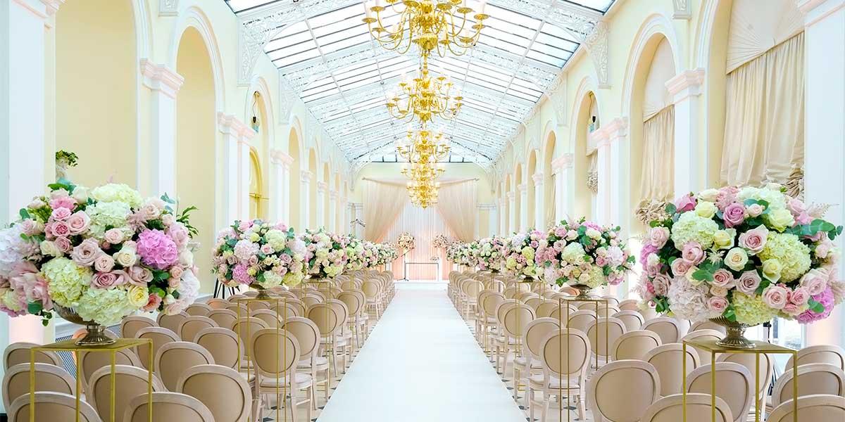 Orangery Wedding Ceremony, Blenheim Palace, Prestigious Venues