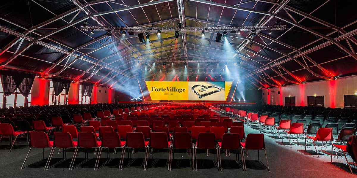 Outdoor Meeting Venue, Event, Forte Village Resort, Prestigious Venues