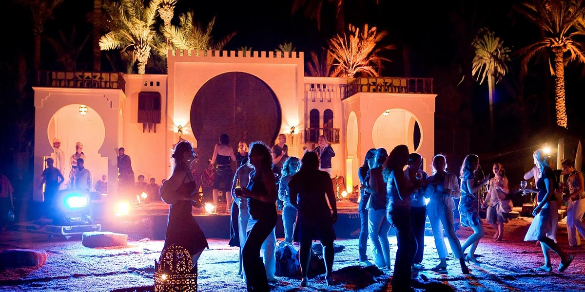Outdoor Party, Micemorocco, Prestigious Star Awards, Prestigious Venues