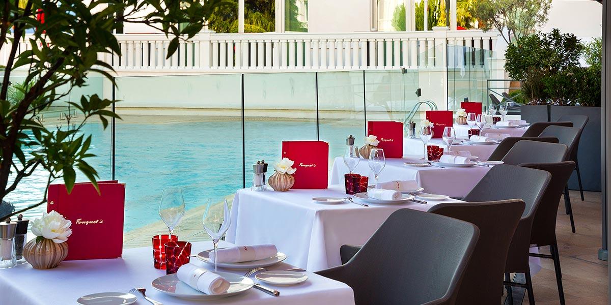 Poolside Venue, Hotel Barriere Le Majestic Cannes, Prestigious Venues