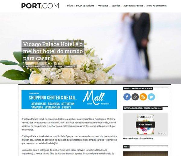 Port.com, Prestigious Star Awards 2014, Press Coverage