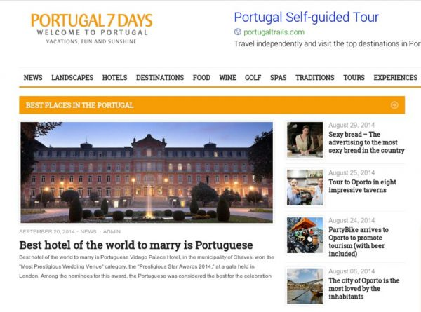 Portugal 7 Days, PPrestigious Star Awards 2014, Press Coverage