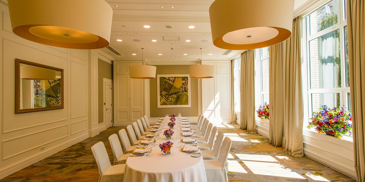 Private Dining in Kemp, Waldorf Astoria Amsterdam, Prestigious Venues