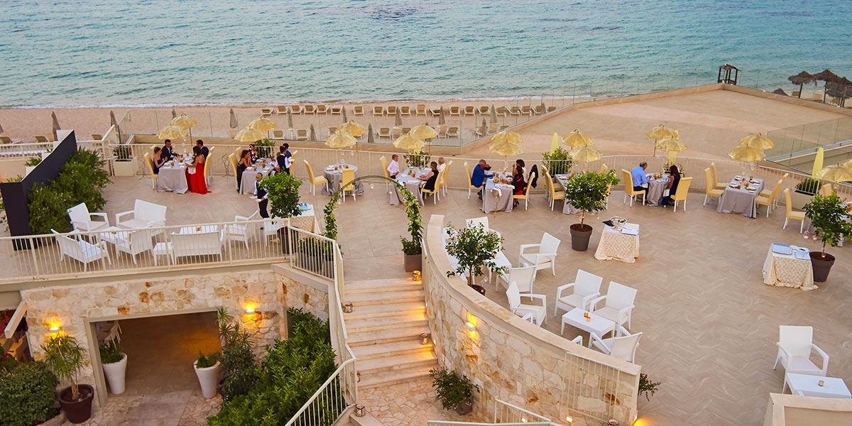 Restaurant Forte Terrace, Forte Village Resort, Prestigious Venues